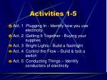 activities 1 5