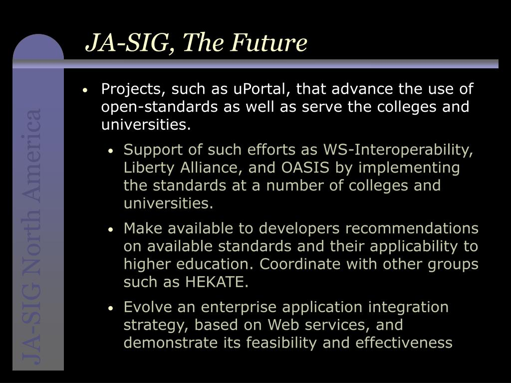 JA-SIG, The Future