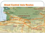 great central asia routes
