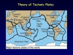 theory of tectonic plates