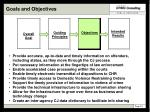 goals and objectives25