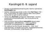 karolingid 8 9 sajand