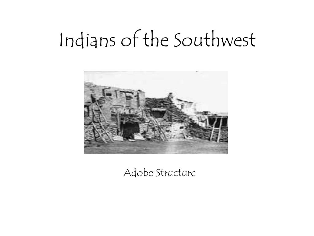 indians of the southwest l.