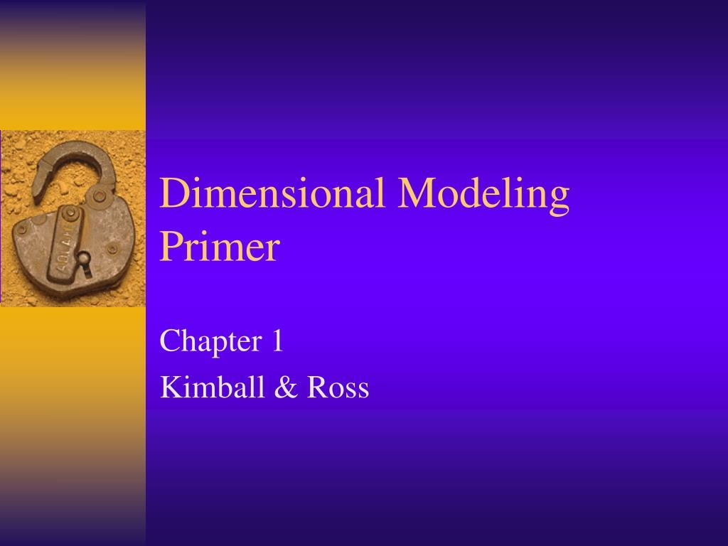 dimensional modeling primer l.