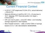 current financial context15