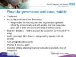 financial governance and accountability19