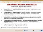 instrumenty aktywnej integracji 1