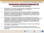 instrumenty aktywnej integracji 2