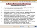 instrumenty aktywnej integracji 3