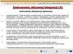 instrumenty aktywnej integracji 4
