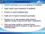homework policy30