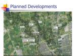 planned developments