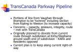 transcanada parkway pipeline