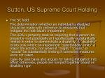 sutton us supreme court holding