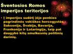 ventosios romos imperijos teritorijos