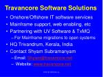 travancore software solutions