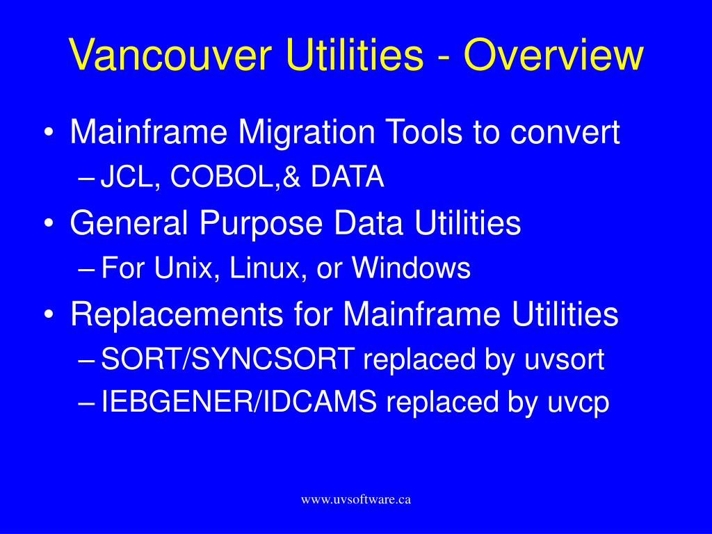 vancouver utilities overview l.