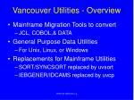 vancouver utilities overview