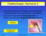 farbkontraste harmonie 2