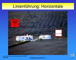 linienf hrung horizontale