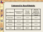 uninsured by race ethnicity