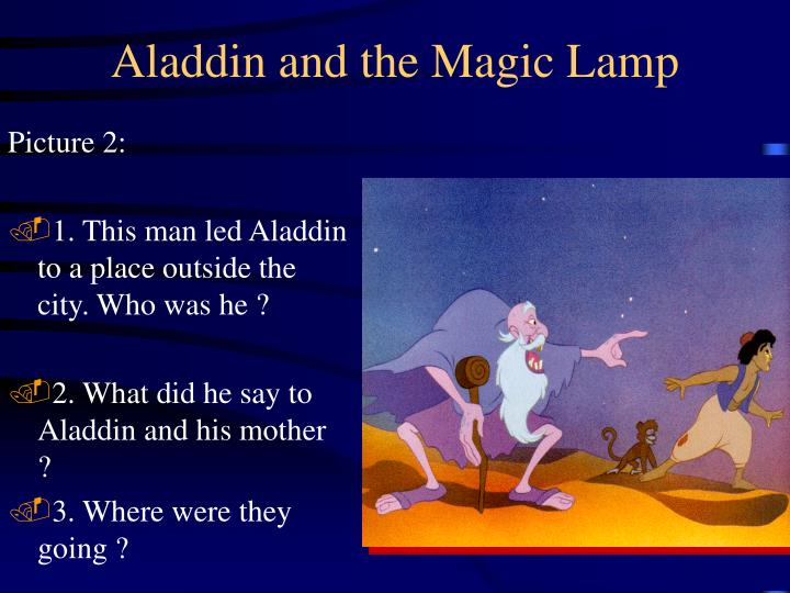 Aladdin and the magic lamp3