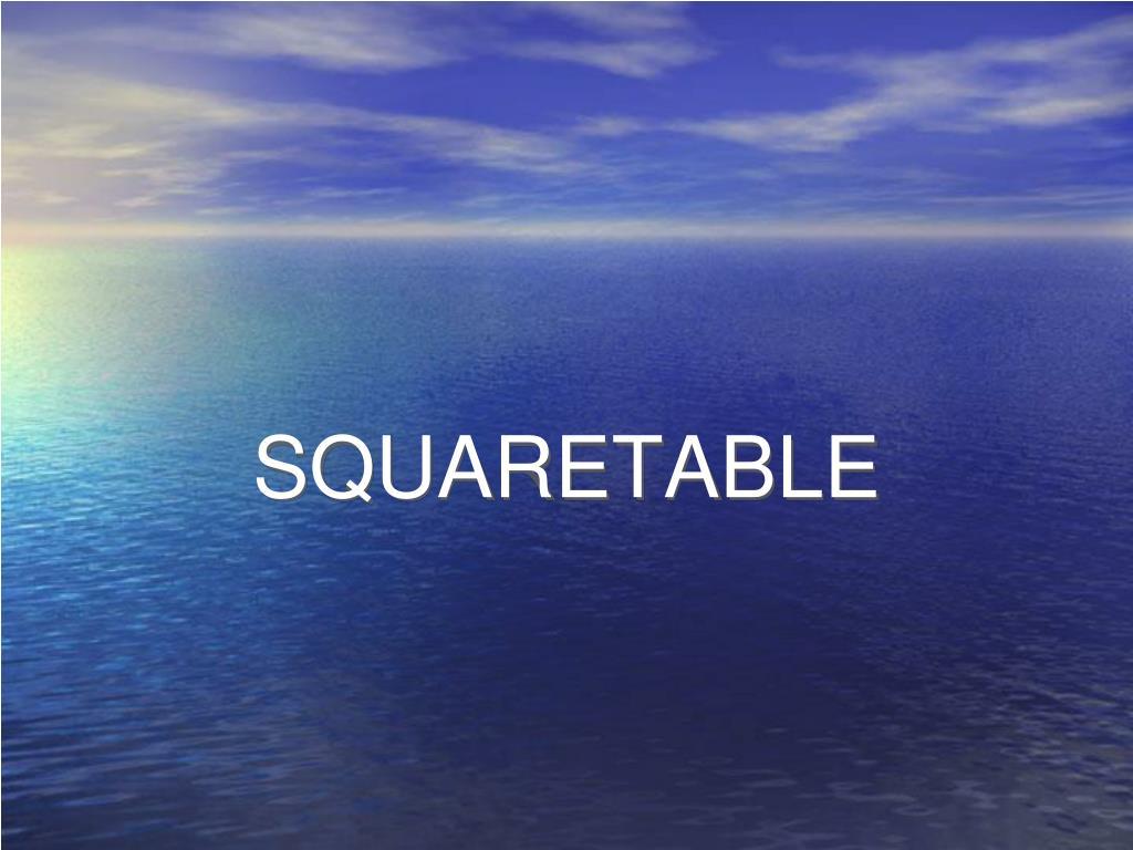 squaretable l.
