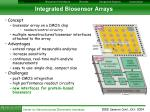 integrated biosensor arrays