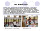 the history wall