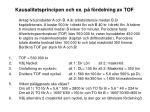 kausalitetsprincipen och ex p f rdelning av tof