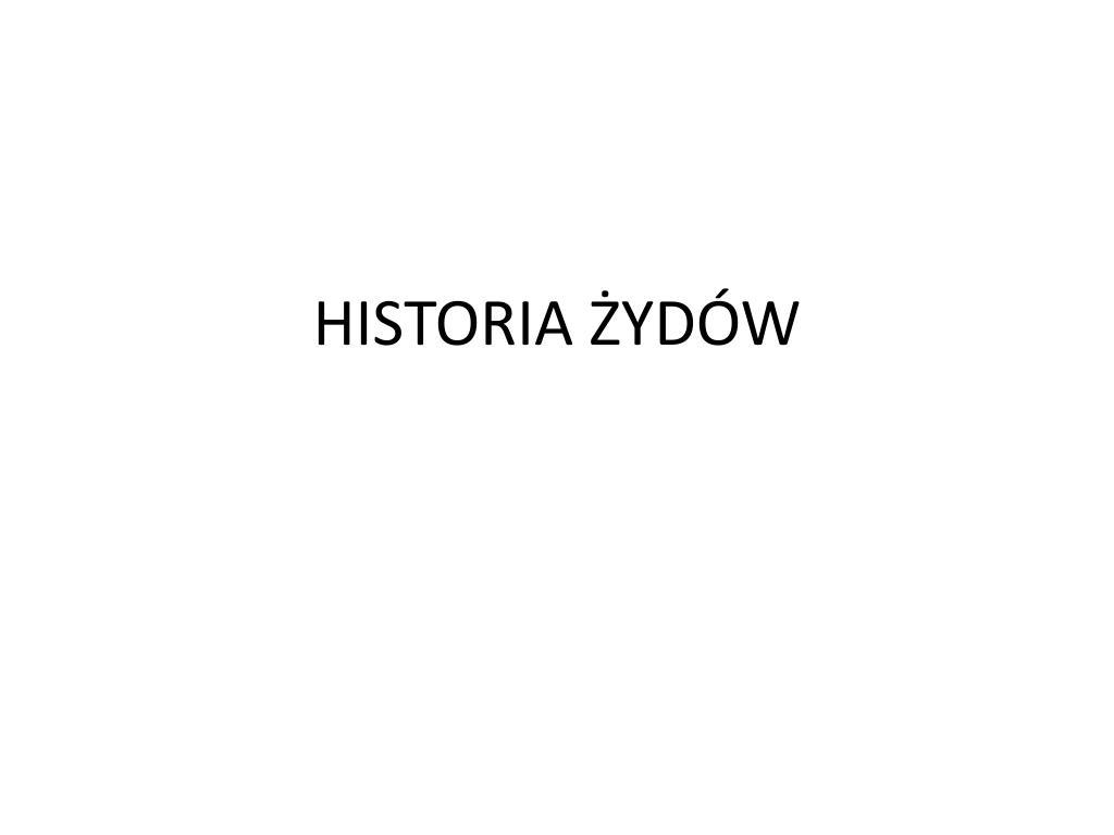 historia yd w l.