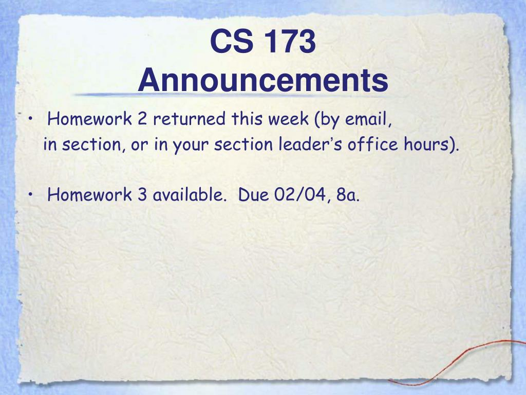 CS 173