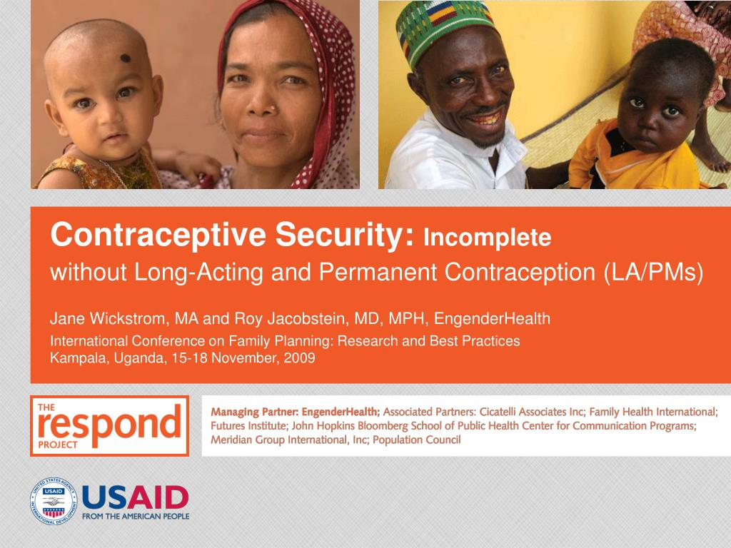contraceptive security incomplete l.