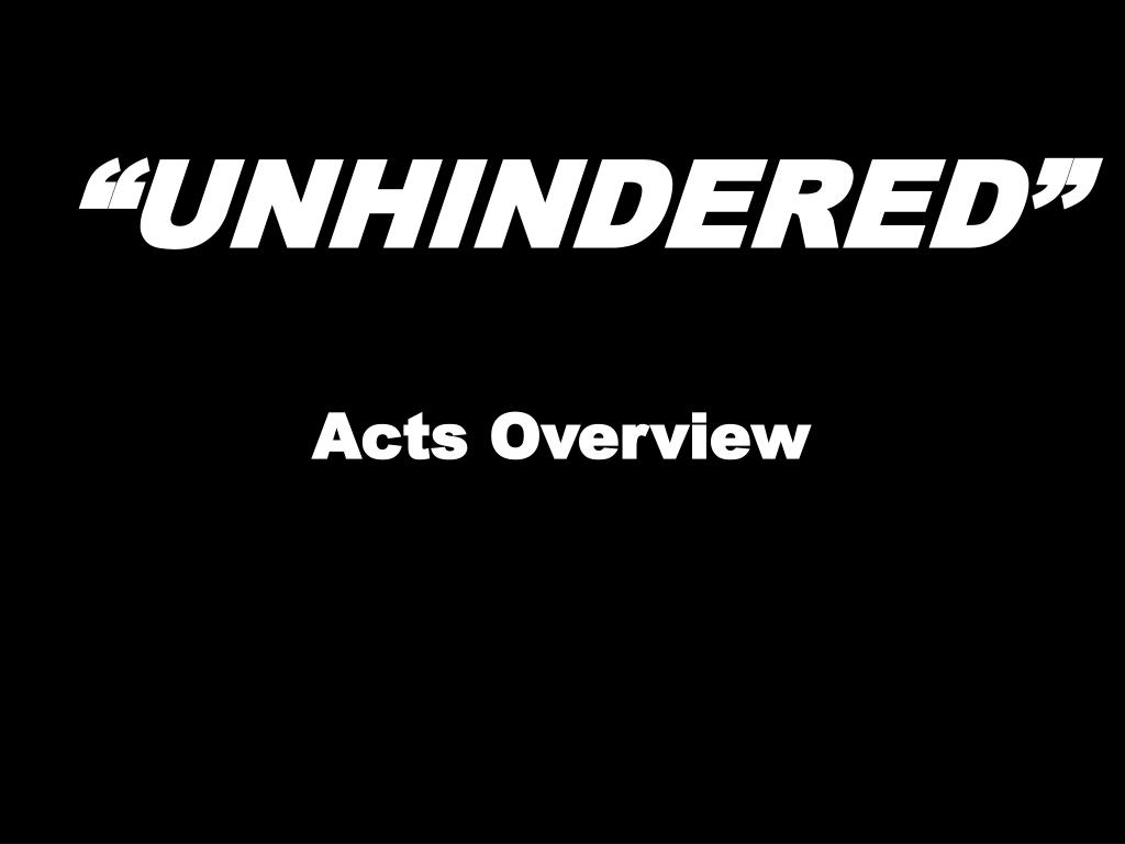 unhindered l.
