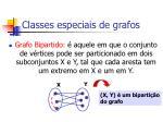 classes especiais de grafos98