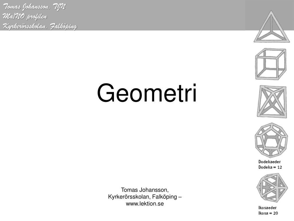 geometri l.