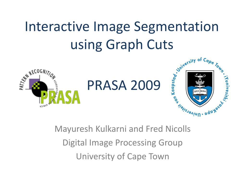 interactive image segmentation using graph cuts l.