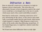 diffraction bats