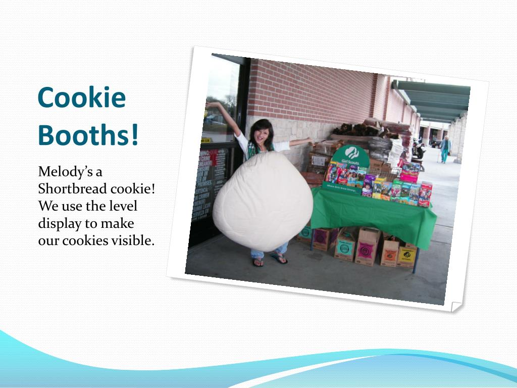 Cookie Booths!