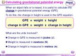 calculating gravitational potential energy23