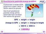 gravitational potential energy problem24