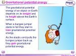 gravitational potential energy19