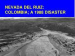 nevada del ruiz colombia a 1988 disaster