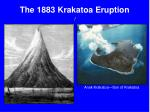 the 1883 krakatoa eruption