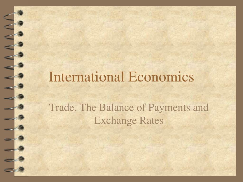 international economics l.