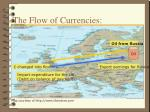 the flow of currencies4
