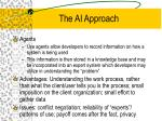the ai approach