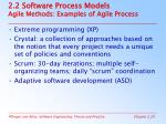 2 2 software process models agile methods examples of agile process