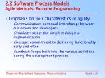 2 2 software process models agile methods extreme programming