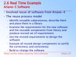 2 6 real time example ariane 5 software